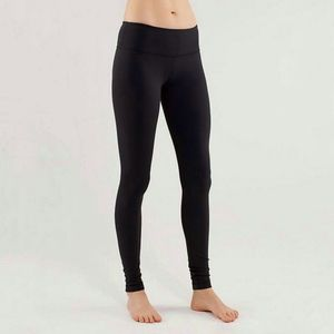 Lululemon Wunder Under Black Leggings Activewear